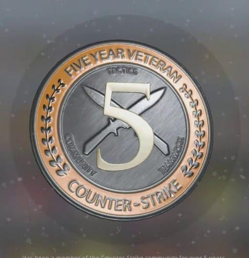 CSGO Veteran Coin Accounts